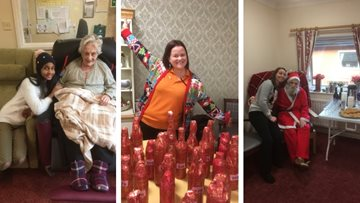 Christmas cheer for all at Dudley care home Christmas fayre