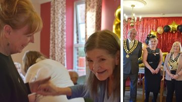 Outstanding celebration at Spennymoor care home