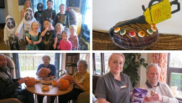 Bishop Auckland care home hosts spook-tacular Meet the Manager event