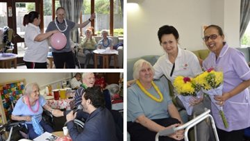 Mitcham care home celebrates National Nurses Day