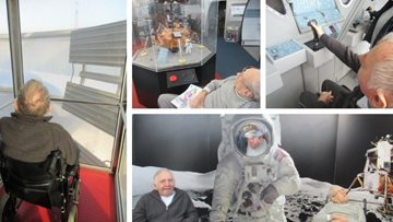 Out of this world day trip for Leicester care home Residents