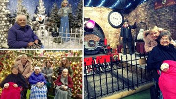 Amerind Grove Residents feel the magic of Christmas at Whitehall Garden Centre