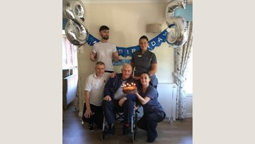 85 birthday candles at Paisley care home