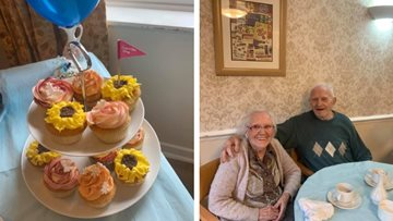 Pudsey care home supports Alzheimer's Society at National Cupcake Day