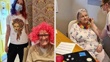 Whitley Bay care home celebrates Pride month