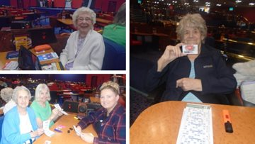 Appleton Manor Residents have a blast at bingo