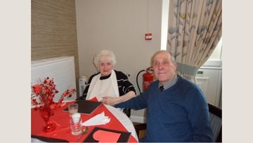 Entertainer raises the roof with Valentines performance at Ashgrove care home