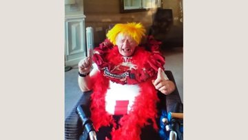 Colleagues surprise County Durham care home Resident on his birthday