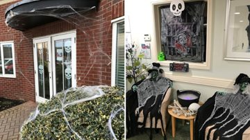 Residents are in for a frightfully good time at North Shields Care Home