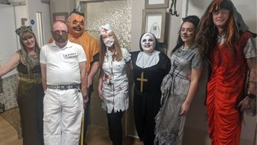 Castletown care home hosts Halloween spook-tacular