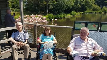 Southport Trip makes Residents Wish Come True