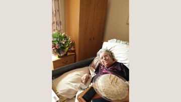 Birthday celebrations for Hodge Hill care home Resident