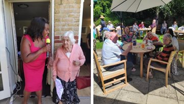 Harefield Care Home Gets Creative for Care Home Open Day