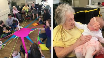 Glanffrwd Care Home launches new weekly session