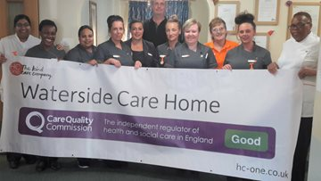 Tipton care home enjoys success in CQC report