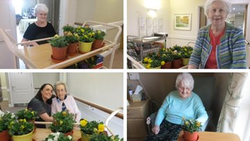 Mother's Day celebrations at Guisborough care home