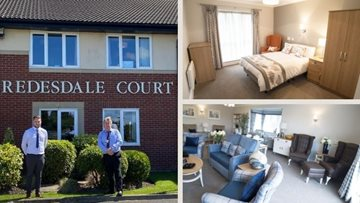 North Shields care home welcomes Deputy Mayor to view new Priory Suite