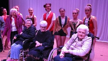 Guisborough care home Residents attend local dance company's Christmas show