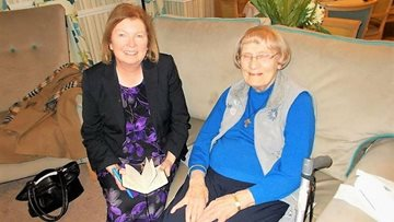 Local MP Visits St Margarets Care Home