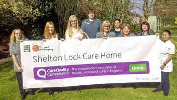 Derby care home celebrates success in CQC report