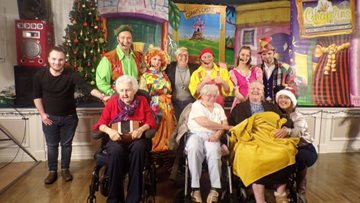 Pantomime performance is a hit at Pencoed care home
