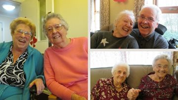 Valentine's Day dance at Wakefield care home