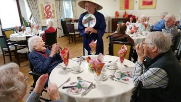 Residents at Forth Bank celebrate Chinese New Year