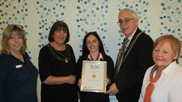 Doncaster Care Home Colleagues Receive Long Service Awards