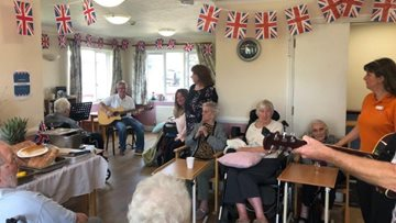 Essex care home royally celebrates the Queen's birthday