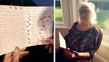 East Sussex care home Residents receive letters from France