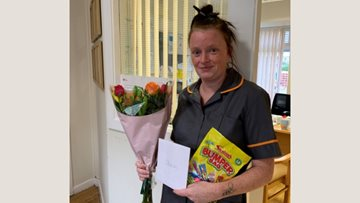 Colleague achievements celebrated at Denton care home