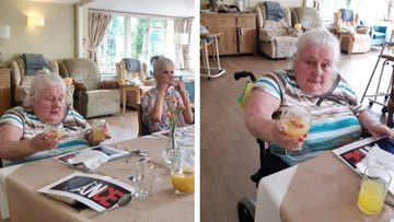 Moreton-In-Marsh care home hosts French style dinner