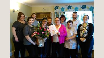Celebrations at Frome care home