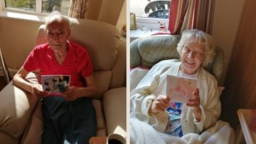 Newcastle upon Tyne care home Residents sent postcards to family