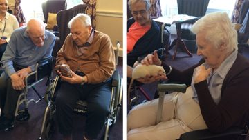 ZooLab visits Edinburgh care home