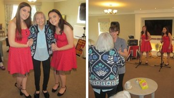 Birthday celebrations for Merseyside care home Resident
