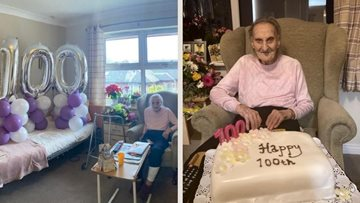 Braintree care home Resident turns 100