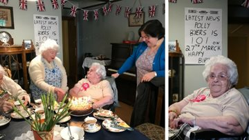 Resident celebrates 101st birthday at Beamish Museum