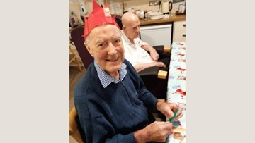 Celebrations at Richmond House care home