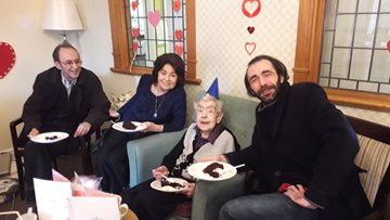 A big Happy Birthday for two Clarendon Residents