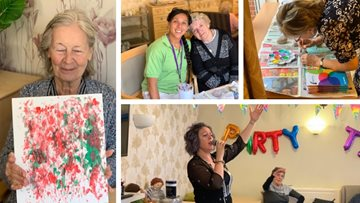 Victoria Mews celebrates artistic talent at Care Home Open Day