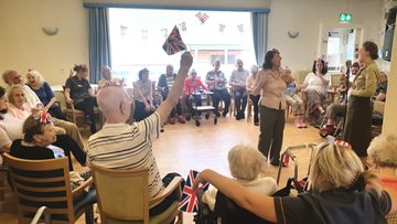 Sunnyside Residents Celebrate VE Day