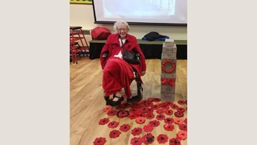 Milliner House Residents enjoy remembrance assembly at local primary school