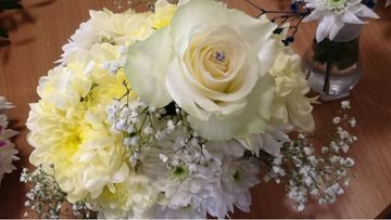 Waterside Care Home celebrates International Flower Day