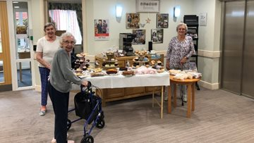 Foxton Court raises over £220 at themed coffee morning