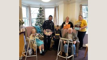 Barnard Castle care home opens its doors to community on Christmas Day