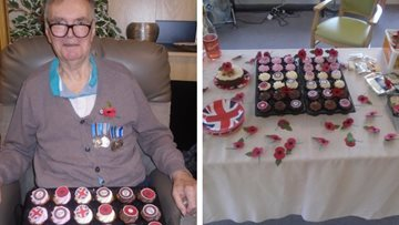 Laindon care home celebrates fallen war heroes and 100 years of Armistice