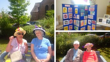 Creative Care Home Open Day at Bishop Auckland care home