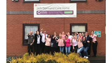 Joy at Jack Dormand as Local VIPs celebrate 'Outstanding' CQC success