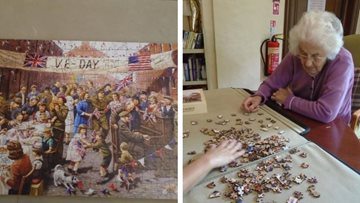 Tetbury care home Residents enjoy donated jigsaw puzzles